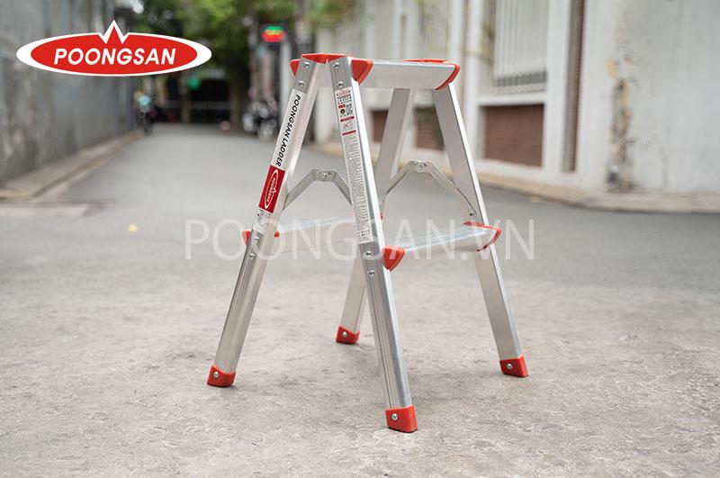 thang nhôm chữ a poongsan ps-5002