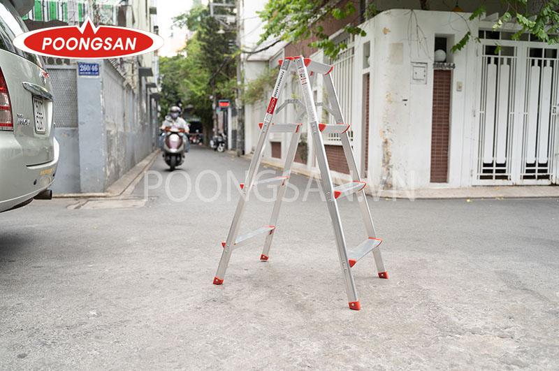 thang nhôm chữ a poongsan ps 5004