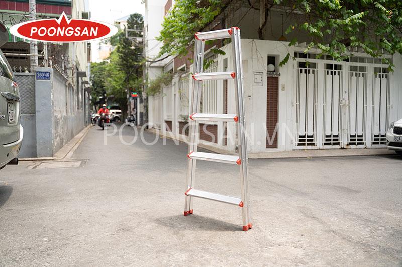 thang nhôm chữ a poongsan ps 5005